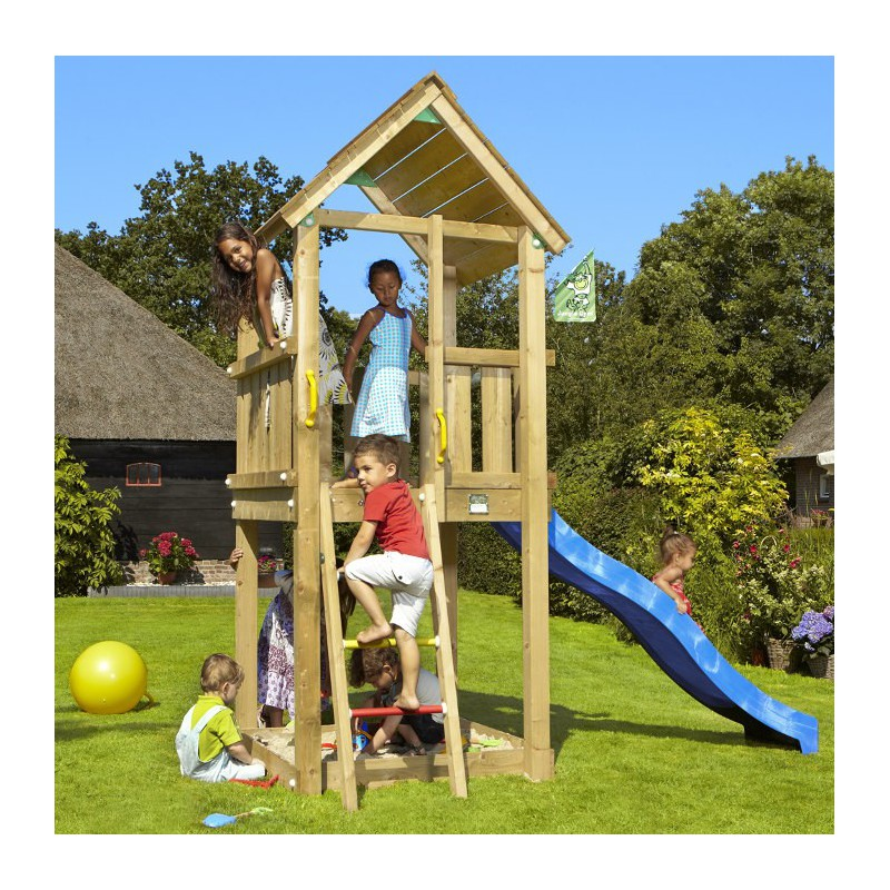 jeux de jardin toboggan bleu 2 20ml club jungle gym. Black Bedroom Furniture Sets. Home Design Ideas