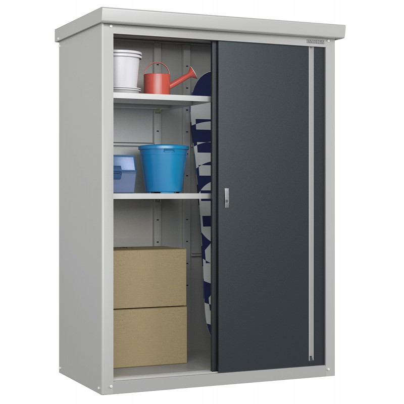 armoire ext rieure en m tal anthracite 3200l guardian 1 72m trimetals. Black Bedroom Furniture Sets. Home Design Ideas