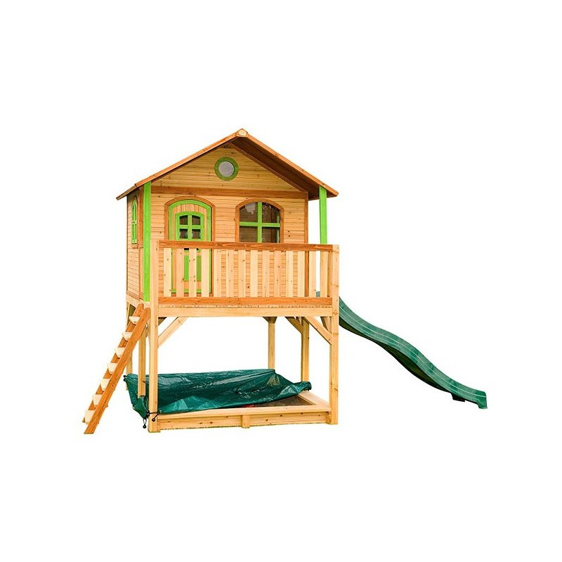 cabane pour enfants en bois marc 435x200x294cm axi. Black Bedroom Furniture Sets. Home Design Ideas