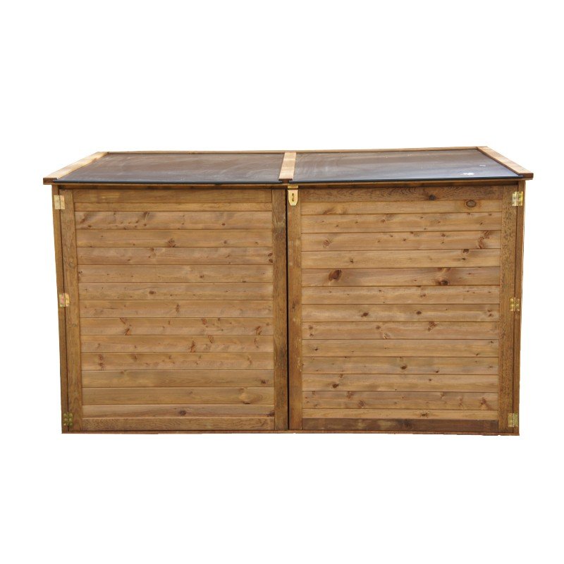 coffre de jardin en bois trocadero 2000l. Black Bedroom Furniture Sets. Home Design Ideas