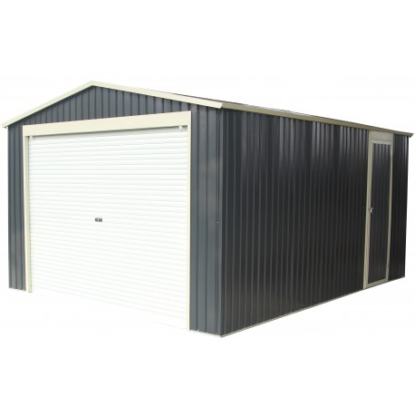 garage m tal anthracite 17 31m porte enroulable kit d 39 ancrage x metal. Black Bedroom Furniture Sets. Home Design Ideas