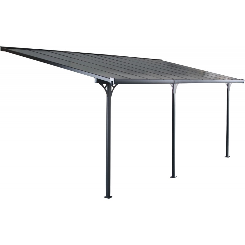 pergola adoss e ajustable en aluminium 3 05x6 18m x metal. Black Bedroom Furniture Sets. Home Design Ideas
