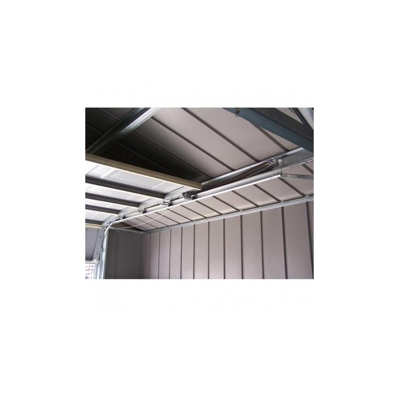 Garage de 19 1m en m tallo plastique tr s r sistant for Garage en plastique
